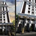 طراحی نما و طراحی پلان پروژه کاخ گلستان