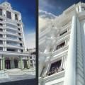 طراحی نما و طراحی پلان پروژه کاخ رویال